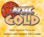 Aztec Gold Herbal Smoke Blend